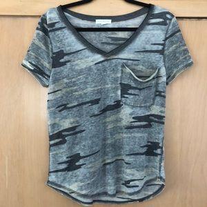 Socialite brand camo t-shirt